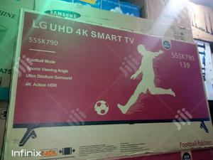 "LG 55""Inches Uhd 4K Smart Internet TV | TV & DVD Equipment for sale in Lagos State, Ojo"