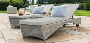 Luxuriant Garden Rattan Sun-lounger - For Home/Hotel Etc   Manufacturing Services for sale in Lagos State, Ikeja
