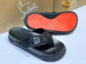 Designer Christian Louboutin Slippers 46 | Shoes for sale in Lagos State, Lagos Island (Eko)