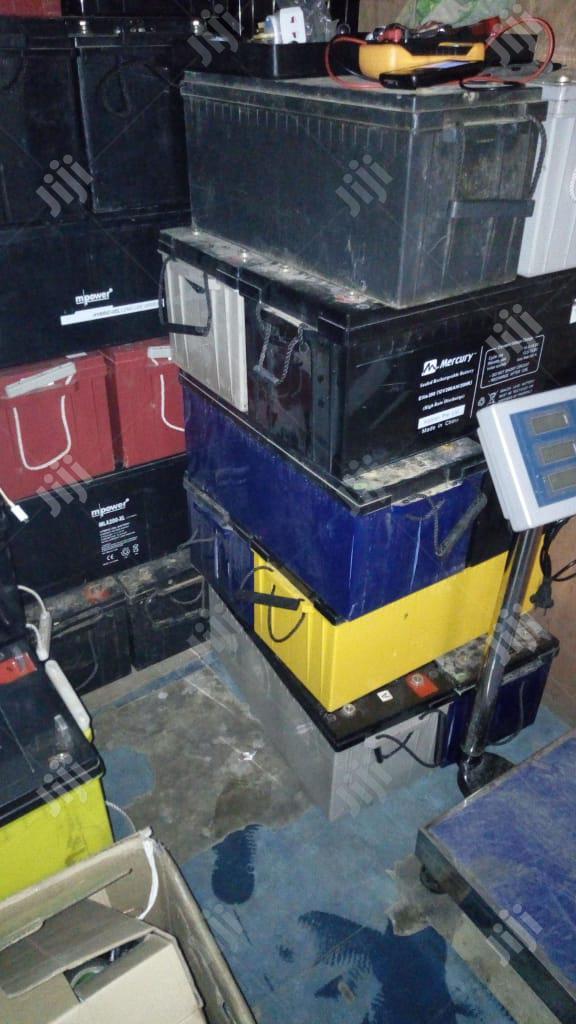 We Buy Scrap Condemn Inverter Batteries | Electrical Equipment for sale in Lagos State, Nigeria