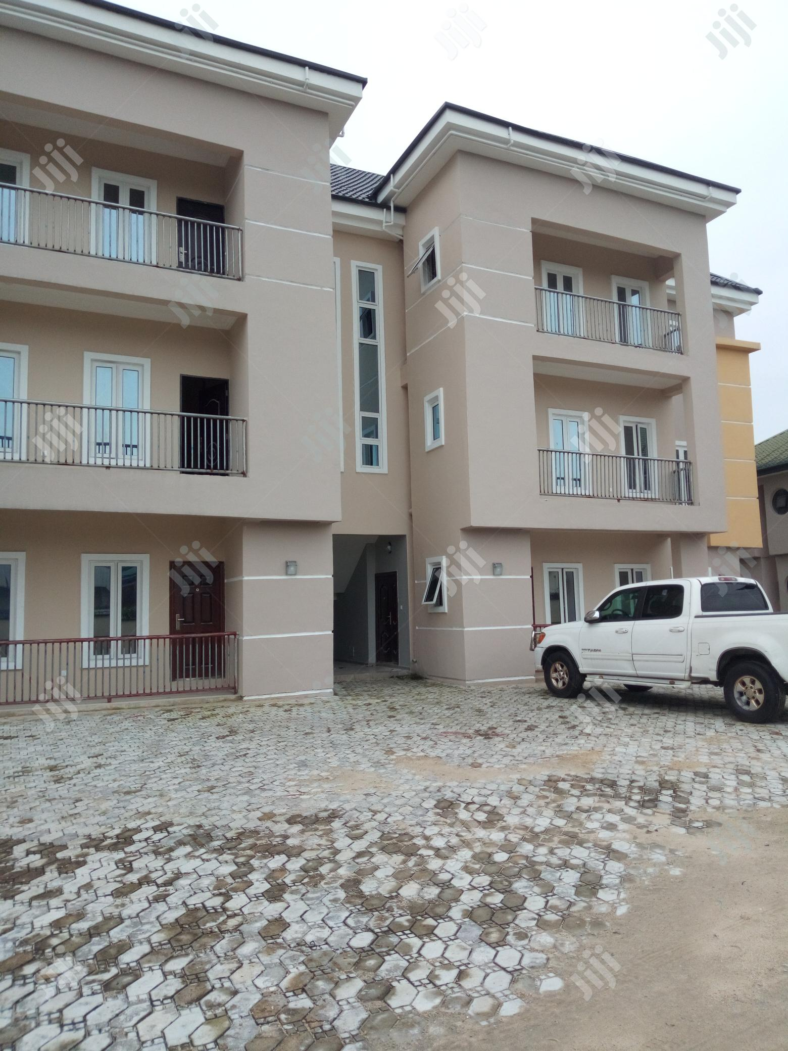 Brand New 2bedroom With Federal Light N Tarred Rd In Mercyland Off NTA