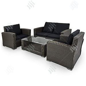 Beauteous Rectangular Rattan Garden Sofa Set   Manufacturing Services for sale in Lagos State, Ikeja