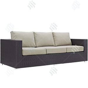 Brilliant Rattan-crafted Garden Furniture Set - Long Sofa Piece   Manufacturing Services for sale in Lagos State, Ikeja