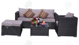 Delightful And Long-lasting Rattan-designed Garden Furniture Piece   Manufacturing Services for sale in Lagos State, Ikeja