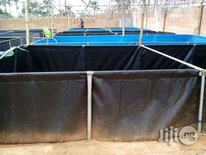 Mobile Tarpaulin Fish Pond, 15x15x4 Feet, 24,485 Ltrs For 1000 Catfish | Farm Machinery & Equipment for sale in Kano State, Kano Municipal