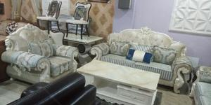 Imported.Fabric Sofa Sofa Chair.   Furniture for sale in Lagos State, Ajah