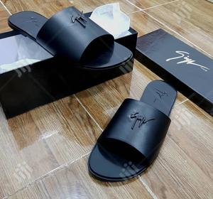 Original Zanotti Leather Palm Slipper   Shoes for sale in Lagos State, Surulere