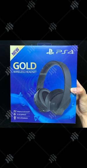 Gold Headset | Headphones for sale in Lagos State, Ikeja