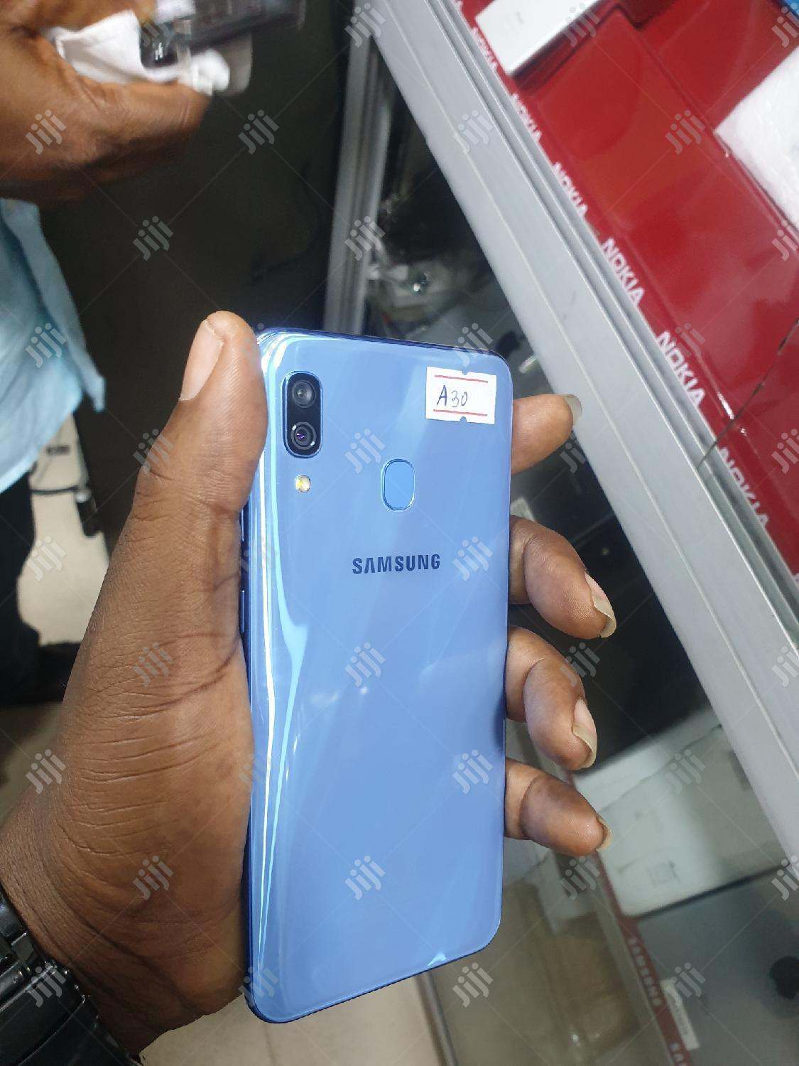 Samsung Galaxy A30 64 GB Blue | Mobile Phones for sale in Ikeja, Lagos State, Nigeria