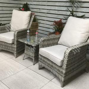 Intricate Rattan-Crafted Garden Furniture Set - Long-Lasting   Furniture for sale in Lagos State, Ikeja