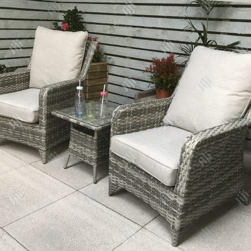 Intricate Rattan-Crafted Garden Furniture Set - Long-Lasting