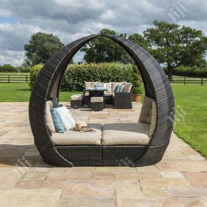 Rattan-woven Garden Daybed Furniture   Furniture for sale in Lagos State, Ikeja
