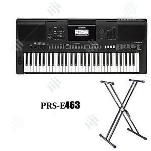 Yamaha Keyboard PSR-E463 With Keyboard Stand And Adaptor. | Musical Instruments & Gear for sale in Lagos State, Ojo