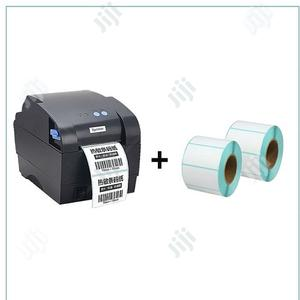 Bar Code Label/Receipt Printer Xp-365b + 2 Roll of Barcode Paper | Printers & Scanners for sale in Lagos State, Ikeja