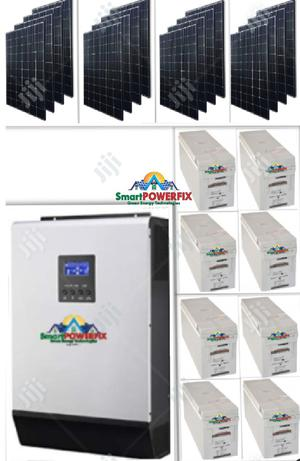 Solar Powered 5kva Inverter Installation With Quanta Batteries | Building & Trades Services for sale in Lagos State, Ikoyi