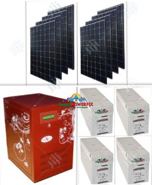 Solar Powered 5kva Inverter Installation With Quanta Batteries | Solar Energy for sale in Lagos State