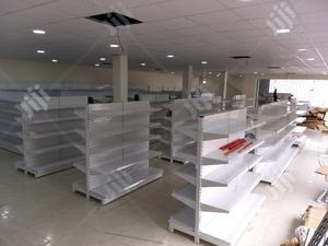 Double Sided Supermarket Shelf | Store Equipment for sale in Abuja (FCT) State, Kubwa