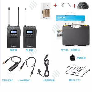 Boya BY-WM8 Pro-k1 Boya Lapel UHF Wireless Microphone   Accessories & Supplies for Electronics for sale in Lagos State, Lagos Island (Eko)
