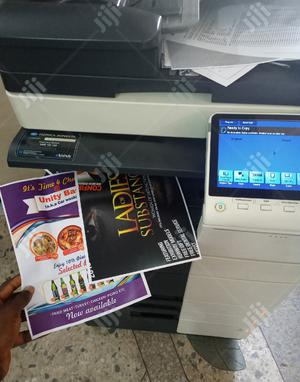 Konica Minolta Bizhub C454e Direct Image Coloured Printer   Printers & Scanners for sale in Lagos State, Surulere