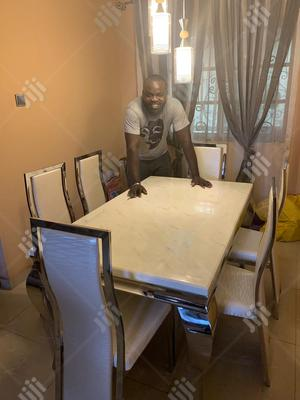 Affordable by Six Marble Dining Table | Furniture for sale in Lagos State, Ojodu
