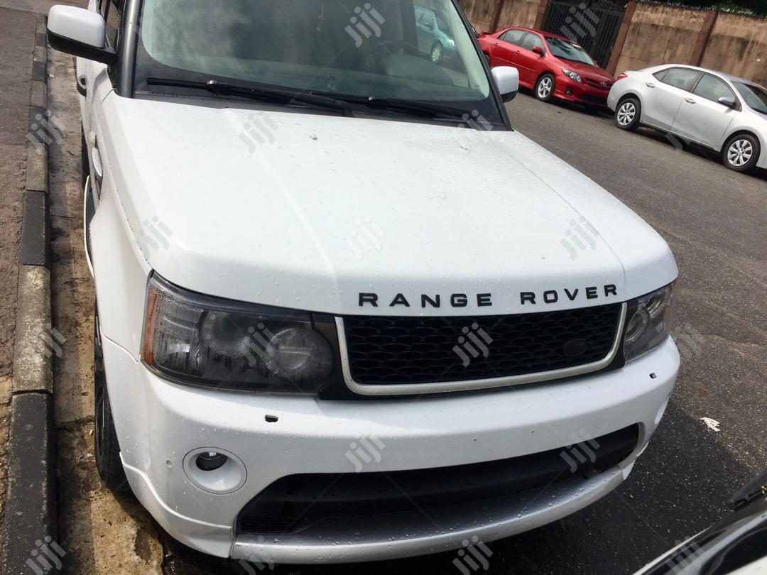 Land Rover Range Rover Sport 2011 HSE 4x4 (5.0L 8cyl 6A) White