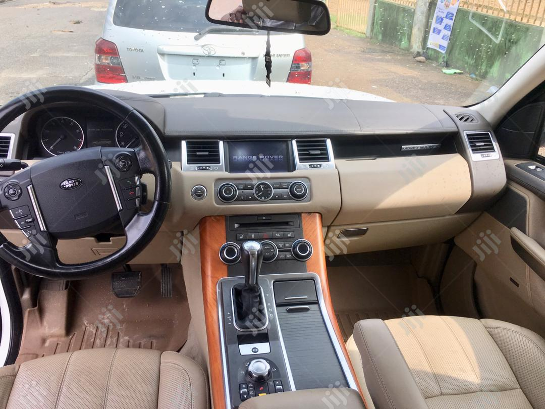 Land Rover Range Rover Sport 2011 HSE 4x4 (5.0L 8cyl 6A) White | Cars for sale in Amuwo-Odofin, Lagos State, Nigeria