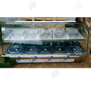 5 Plates Food Warmer With Layer, Door and Top Glass | Restaurant & Catering Equipment for sale in Lagos State, Surulere