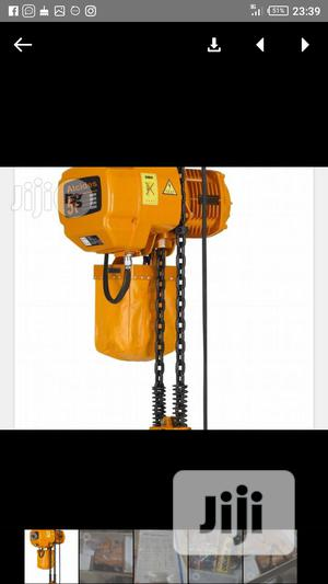 Electric Chain Hoist 5ton | Manufacturing Equipment for sale in Lagos State, Ojo