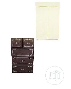Mum Baby Cabinet- Coffee Brown and Cream | Children's Furniture for sale in Lagos State, Ojota