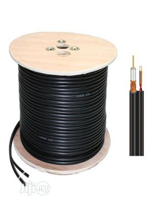 Elcovision RG59 With Power Coaxial Cable by 300yard | Accessories & Supplies for Electronics for sale in Lagos State, Ikeja