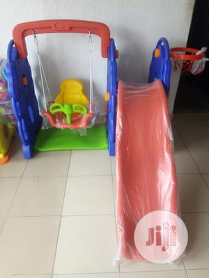 Children Playground Swing Set With Slide Basketball Hoop | Toys for sale in Lagos State, Ikeja