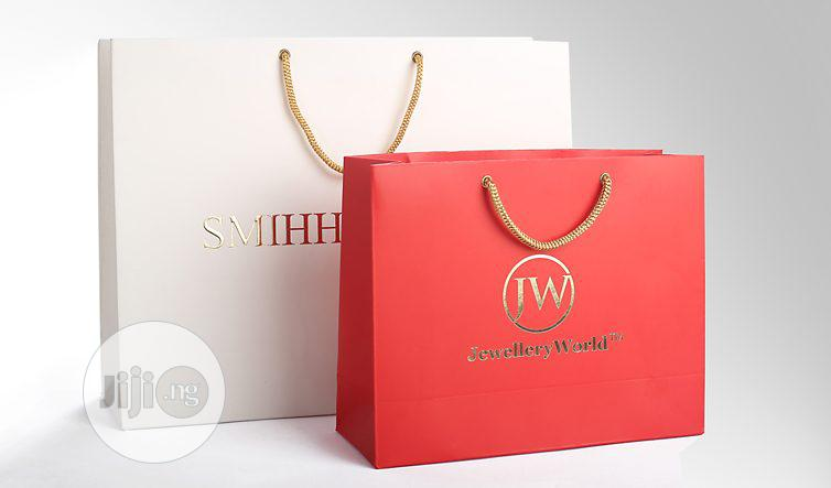 A3+ Sized Paper Bags For Beauty, Fashion & Clothing.