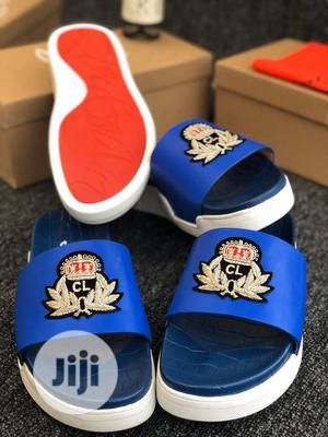 Dolce and Gabbana /Louboutin Pam Slippers Available Swipe to Pick | Shoes for sale in Lagos State, Lagos Island (Eko)