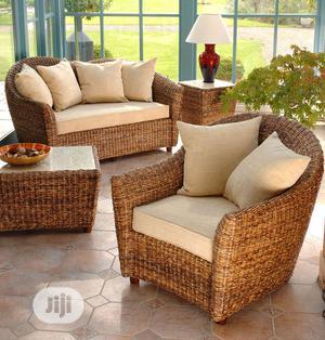 Exotic Garden Rattan Cane Sofa Set | Furniture for sale in Lagos State, Ikeja