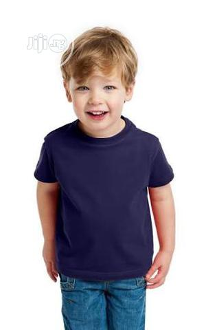 Plain T-shirt For Children Wholesale Price | Children's Clothing for sale in Lagos State, Surulere