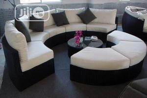 Nice Patio/Indoor/Outdoor Rattan Curved Modular Furniture   Furniture for sale in Lagos State, Ikeja