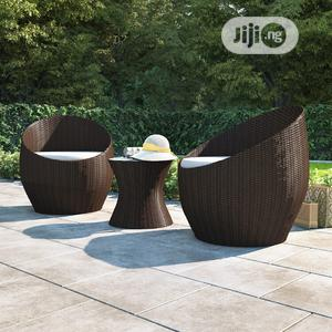 Exotic Indoor/Outdoor Rattan-Laced Egg Chair   Furniture for sale in Lagos State, Ikeja