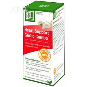Heart Support Garlic Combo -Maintains Cardiovascular Health. | Vitamins & Supplements for sale in Lagos State, Ikeja
