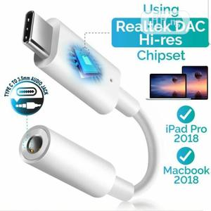 Type-C to 3.5mm Headphone Adapter Audio Aux Connector for Google Pixel | Headphones for sale in Lagos State, Ikeja
