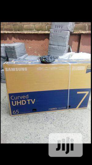 Samsung 65 Inch Curve Tv   TV & DVD Equipment for sale in Lagos State, Ojo
