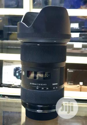 Sigma 18-35mm F1.8 DC HSM Art Lens For Nikon Camera | Accessories & Supplies for Electronics for sale in Lagos State, Ikeja