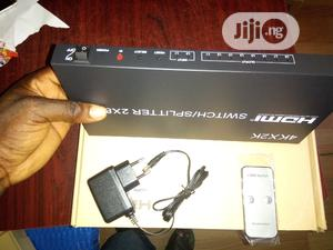 2×8 HDMI Splitter and Switcher | Computer Accessories  for sale in Lagos State, Ikeja