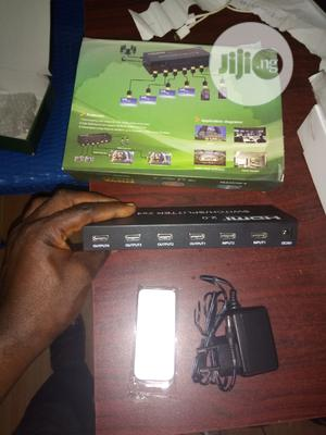 HDMI Splitter and Switcher 2×4 | Computer Accessories  for sale in Lagos State, Ikeja