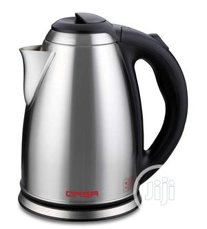 Qasa Electric Jug 1.8liters Stainless   Kitchen & Dining for sale in Lagos State, Ojo