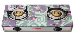 Qasa Gas Cooker Glasstop 2burner | Kitchen Appliances for sale in Lagos State, Ojo