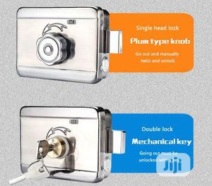 Electric Lock,Hook Door Latch 12v C Rim Lock For Door Access Control | Doors for sale in Lagos State, Ikeja