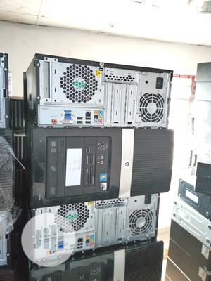 Desktop Computer HP 2GB Intel Core 2 Duo HDD 160GB | Laptops & Computers for sale in Lagos State, Ikeja