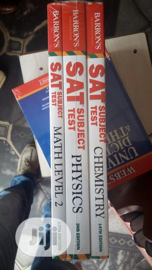 Sat Subjects Test, Chemistry, Physics, And Mathematics (3 In 1)   Books & Games for sale in Lagos State, Yaba