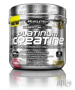 Muscletech Platinum 100% Creatine Supplement (400g)   Vitamins & Supplements for sale in Lagos State, Agege