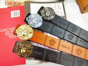 Versace Designer Belts (ORIGINAL LEATHER)   Clothing Accessories for sale in Lagos State, Lagos Island (Eko)